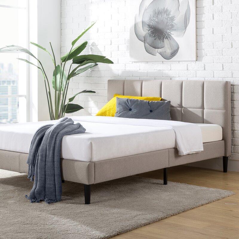 Colby Tufted Upholstered Platform Bed