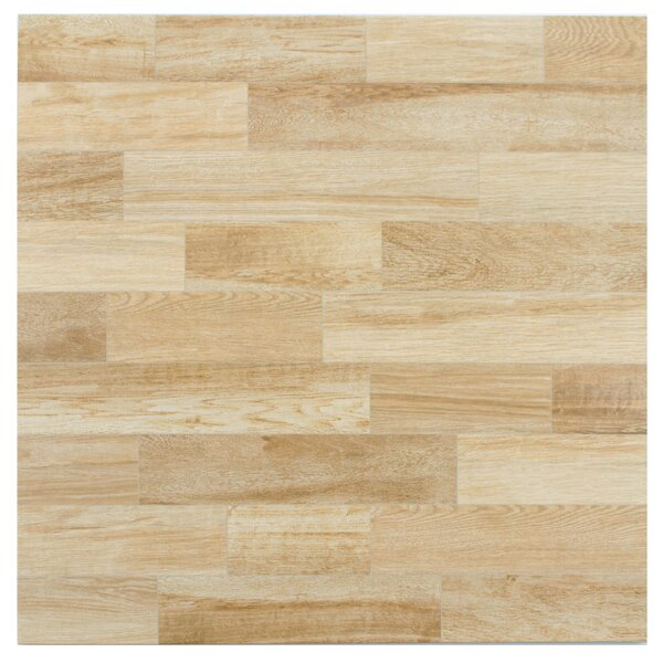 Prospero 17.75 x 17.75 Ceramic Wood Tile in Haya by EliteTile