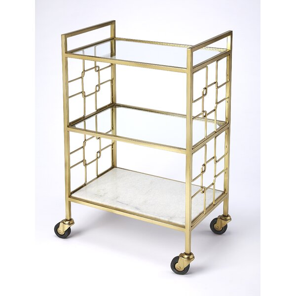 Vestavia Bar Cart by Brayden Studio