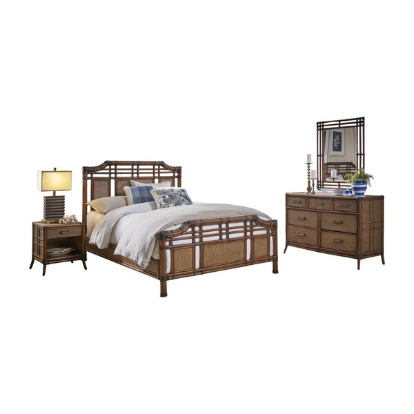Ashleigh Complete Queen Bedroom Set (Set of 6) by Mistana