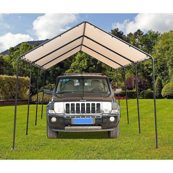 10 Ft. W x 20 Ft. D Steel Pop-Up Canopy by SoraraOutdoorLiving