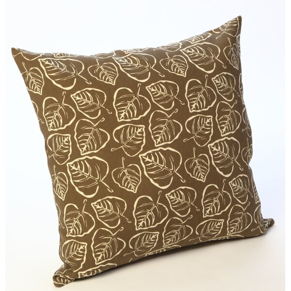 Leaves Outdoor Throw Pillow by HRH Designs