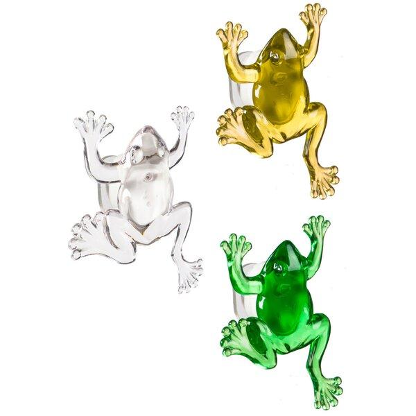 Magnetic Frog LED Screen Door Protector (Set of 12) by Evergreen Flag & Garden