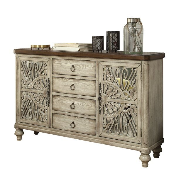 Suismon 2 Door Accent Cabinet by Bungalow Rose Bungalow Rose