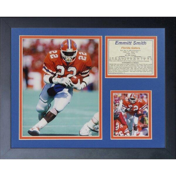 Emmitt Smith - Florida Framed Memorabilia by Legends Never Die