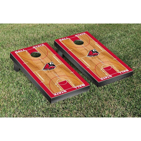 NCAA Basketball Wooden Cornhole Game Set by Victory Tailgate