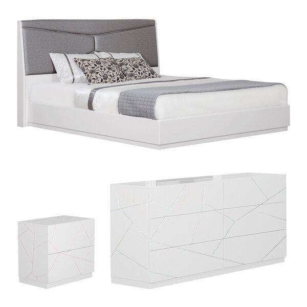 Landy Upholstered Panel Configurable Bedroom Set by Orren Ellis