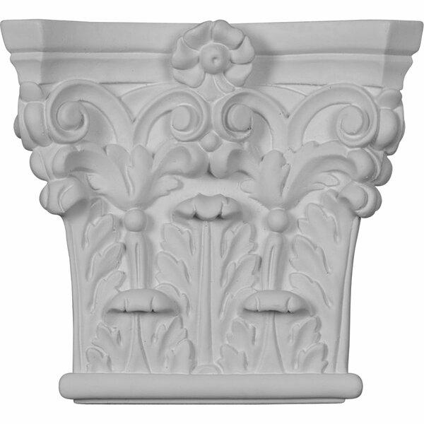 Corinthian 6 3/8H x 7W x 1 3/4D Pilaster Corbel by Ekena Millwork