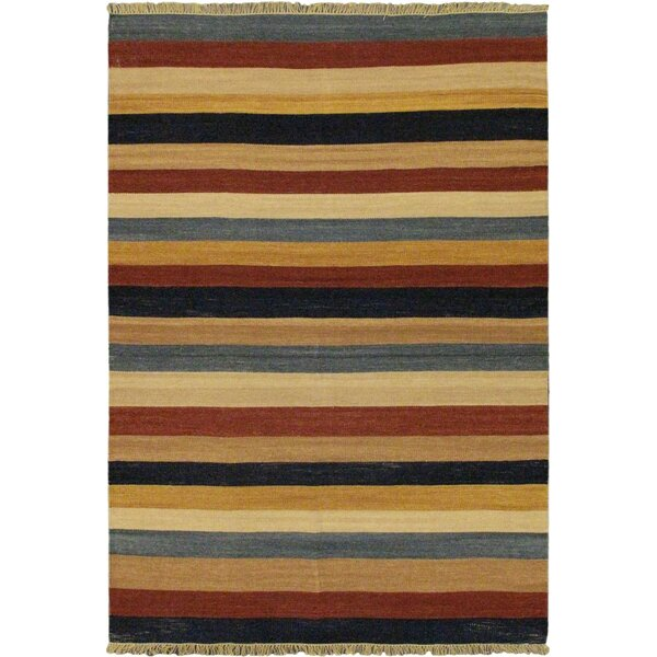 Fiesta Striped Area Rug by ECARPETGALLERY