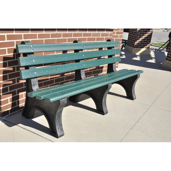 Aiden Recycled Plastic Park Bench by Freeport Park Freeport Park