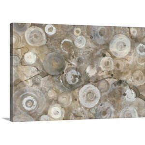 Neutral Agate by Albena Hristova Painting Print on Wrapped Canvas by Great Big Canvas