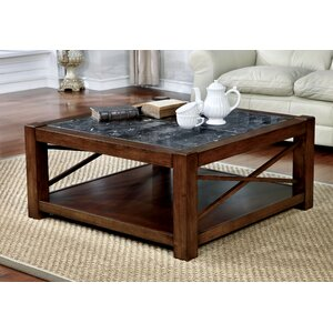 Brandenburg Transitional Square Coffee Table by Red Barrel Studio