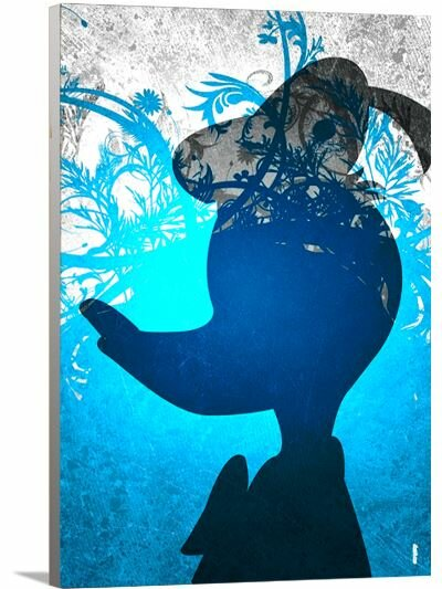 Disney Inspired Donald Duck Canvas Art by Artzee Designs