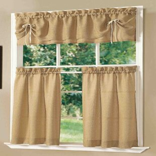 Lucia Kitchen Valance And Tier Set
