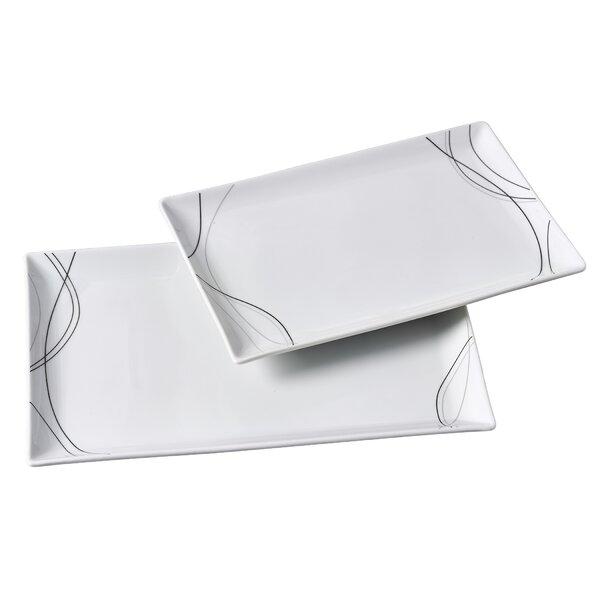 Halloran 2 Piece Rectangular Platter Set by Latitude Run