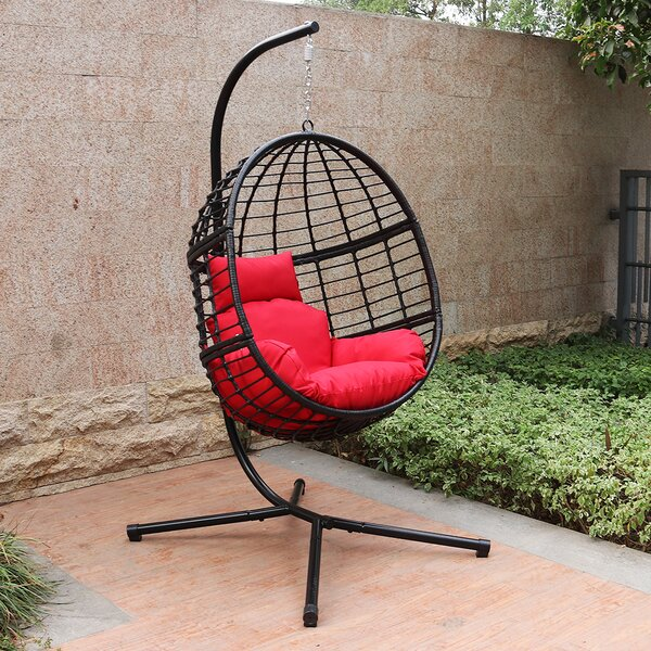 Korey Swing Chair With Stand By Bayou Breeze