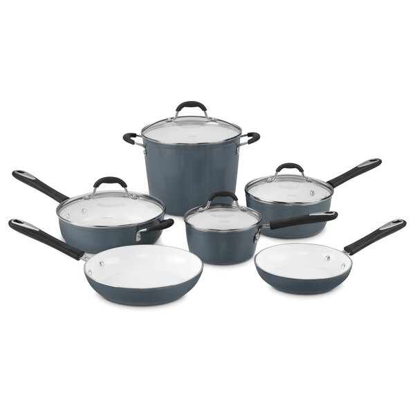 10 Piece Elements Non Stick Cookware Set By Cuisinart.