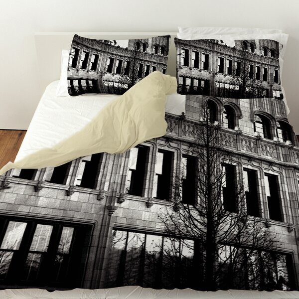Urban Façade Duvet Cover by Manual Woodworkers & Weavers