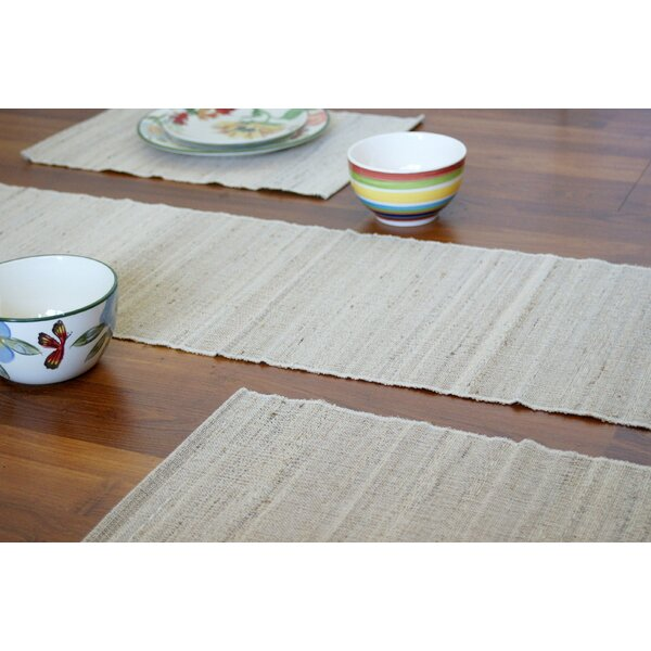 Vaayil Handmade Banana Fiber Table Runner by Leaf & Fiber