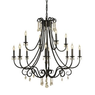 Inexpensive Mallie 12-Light Chandelier By Astoria Grand