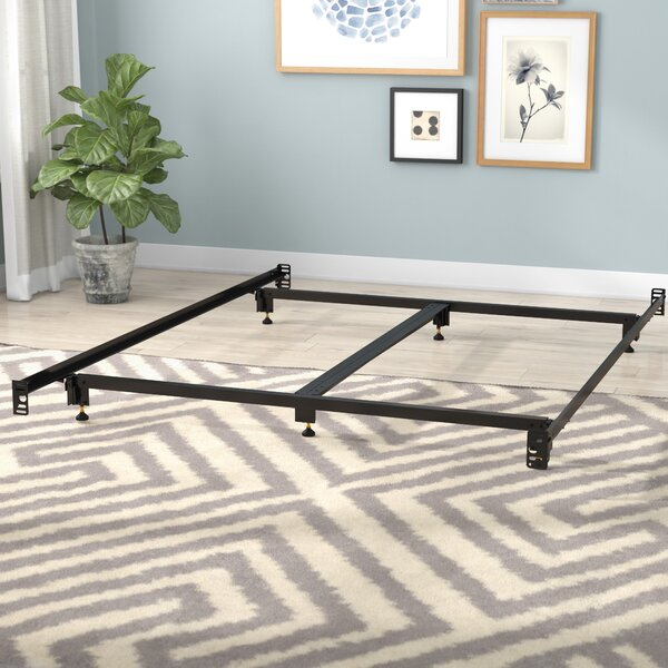 Daggett Steelock Metal Bed Frame by Symple Stuff