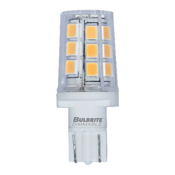 3W Dimmable LED Light Bulb (Set of 2) by Bulbrite Industries