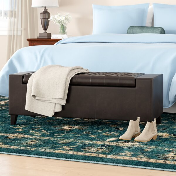 Axton Upholstered Storage Ottoman by Darby Home Co