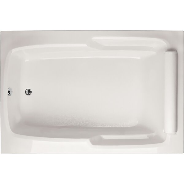 Designer Duo 66 x 48 Soaking Bathtub by Hydro Systems
