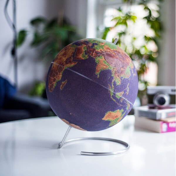 Large Cork Globe by suck UK