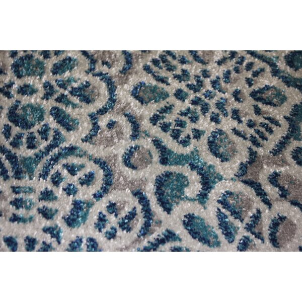 Fusion Hand-Tufted Blue Area Rug by Rug Factory Plus