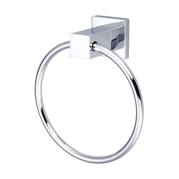Mod Wall Mounted Towel Ring by Pioneer