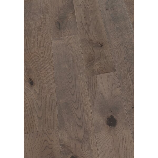 5 Solid Oak Hardwood Flooring in Brushed Smokey Gray by Maritime Hardwood Floors