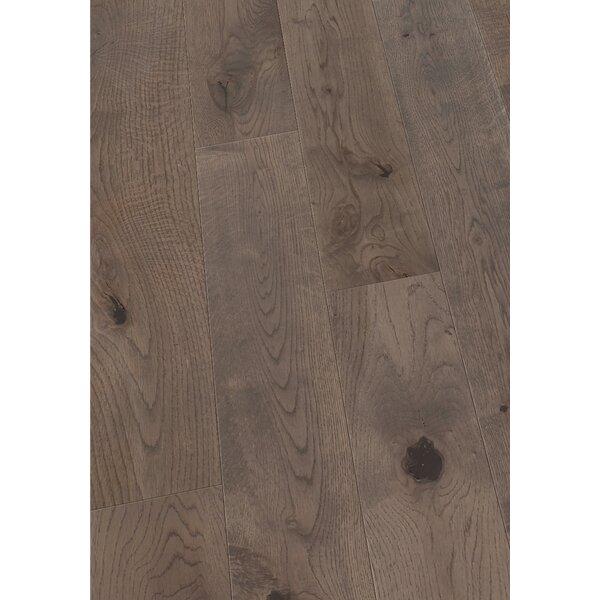 5 Solid Oak Hardwood Flooring in Brushed Smokey Gray by Maritime Hardwood Floors