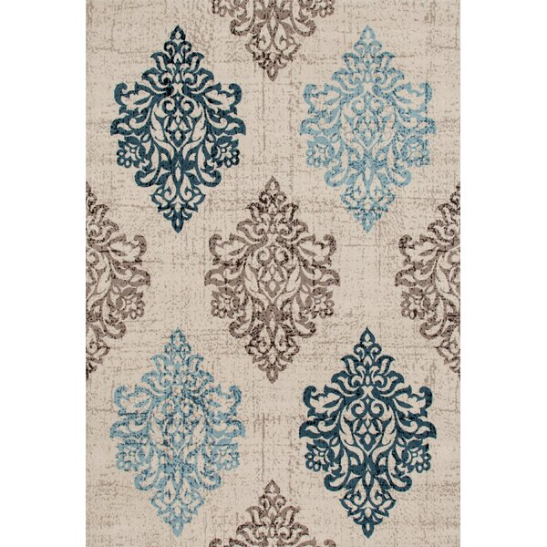 Elite Soft Blue Area Rug by World Rug Gallery
