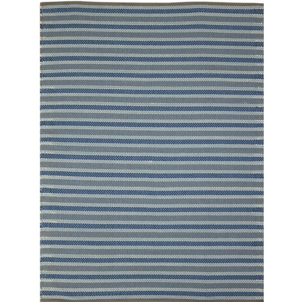 Brette Flat Woven Blue Indoor/Outdoor Area Rug by Williston Forge