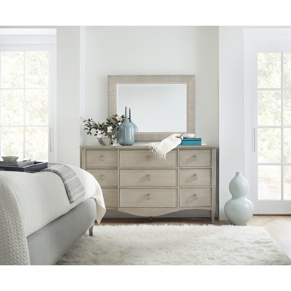 Reverie 9 Drawer Dresser with Mirror by Ophelia & Co.