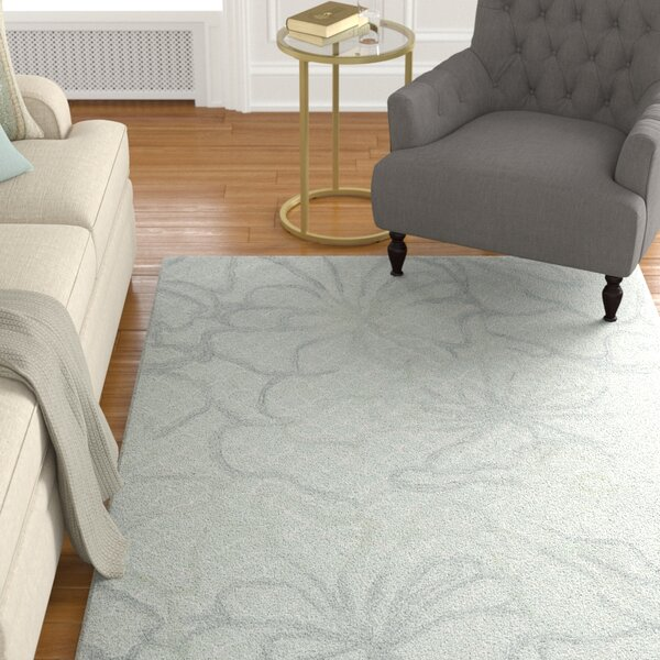 Stalbridge Hand-Tufted Seafoam Area Rug by Darby Home Co