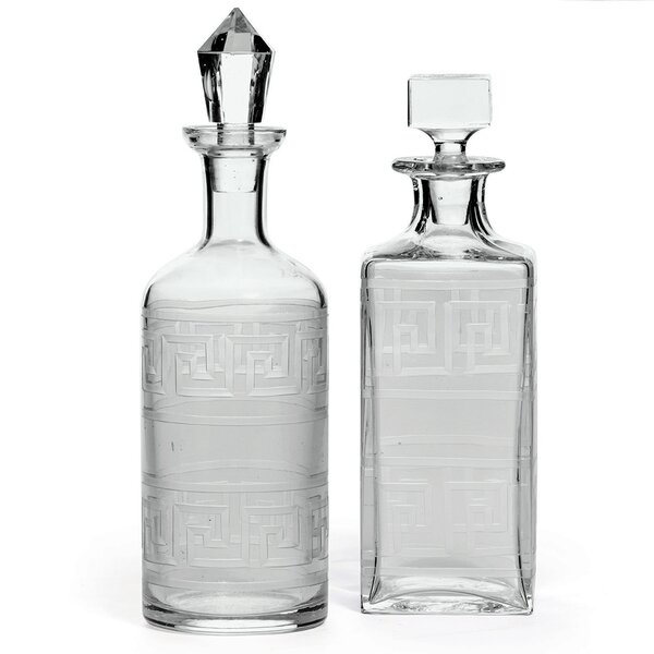 Springport 2 Piece Decanter Set by Mercer41