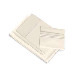 Look for Montpelier 400 Thread Count 100% Cotton Fitted Sheet Set ByDarby Home Co