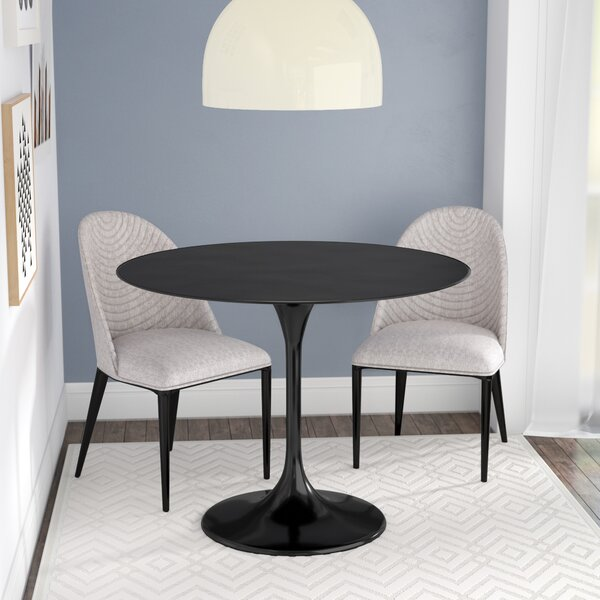 Julien Metal Dining Table By Langley Street Herry Up