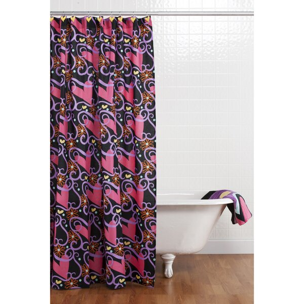 Sassy Shaylee Cotton Shower Curtain by One Grace Place