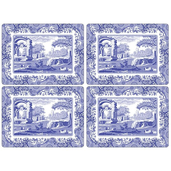 Blue Italian Placemat (Set of 4) by Pimpernel