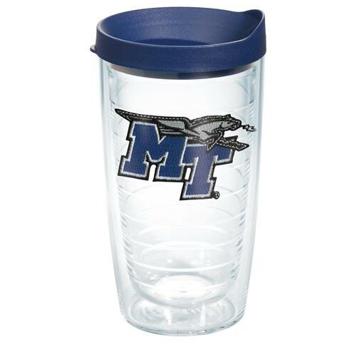 Collegiate Middle Tennessee State Plastic Every Day Glass by Tervis Tumbler