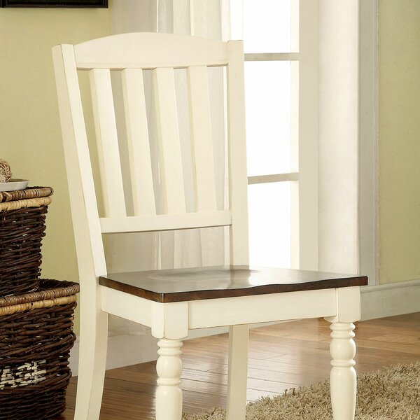 Putnam Side Chair In White (Set Of 2) By August Grove