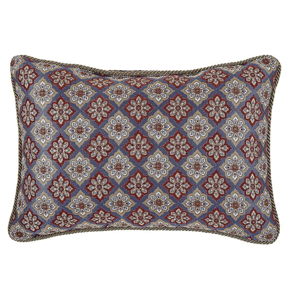 Margaux Boudoir Lumbar Pillow by Croscill Home Fashions