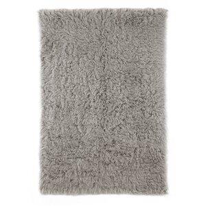 Gherardo Hand-Woven Wool Gray Area Rug