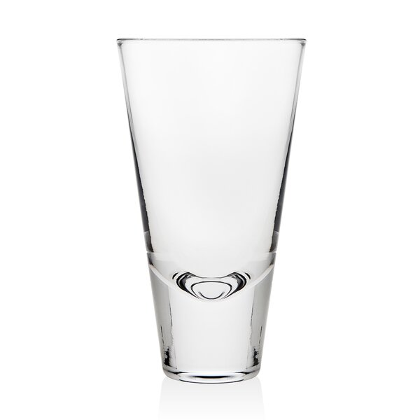 Julian Tumbler 13 oz. Crystal Highball Glass (Set of 4) by Godinger Silver Art Co