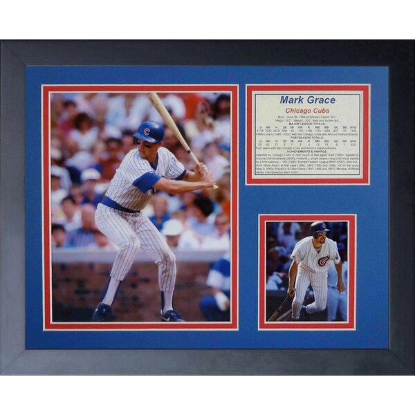 Mark Grace Framed Memorabilia by Legends Never Die