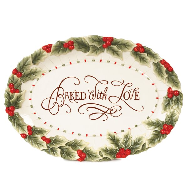 Baked With Love Platter by Fitz and Floyd
