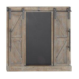 Traditional Wood And Iron Interior Barn Door